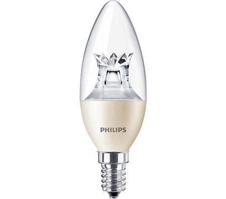 Żarówka LED Philips MASTER LEDcandle DT 8-60W E14 827 806lm B40 Clear
